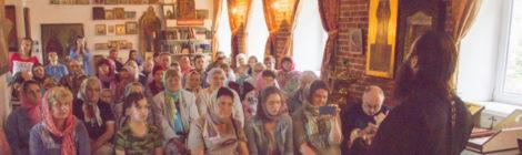 Встреча-концерт в п. Мишеронский