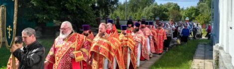 Память новомучеников в с. Пустоша