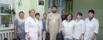 Посещение больницы в п. Саматиха