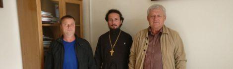 Встреча по строительству Никольского храма в г. Шатура