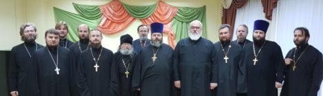 Пастырский семинар в Шатурском благочинии