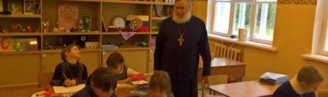 Посещение школы в п. Осаново-Дубовое