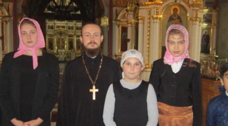 Экскурсия школьников в с. Шарапово