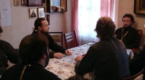 Встреча с ответственными по епархиальным отделам в благочинии
