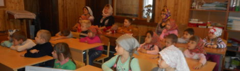 Экскурсия дошкольников в храм п. Радовицкий