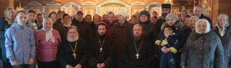 Престольный праздник в Архангельском храме с. Пышлицы