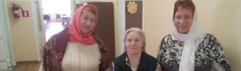 Посещение отделения социального ухода в больнице д. Коробовская