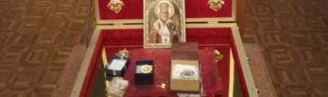 Принесение святых мощей в г. Рошаль