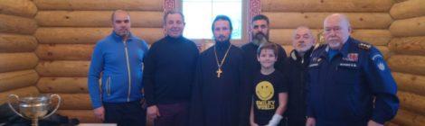 Посещение Казанской церкви