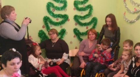 Новогодняя ёлка в реабилитационном центре г. Шатура