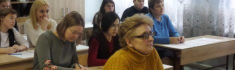 Мастер-класс в школе №4 г. Шатура
