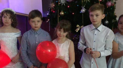 Новогоднее представление «В гостях у Золушки»