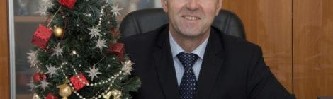 Поздравление Главы городского округа Шатура с Новым Годом и Рождеством