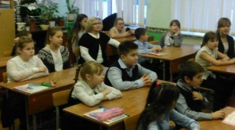 Новогодний классный час в Бакшеевской школе