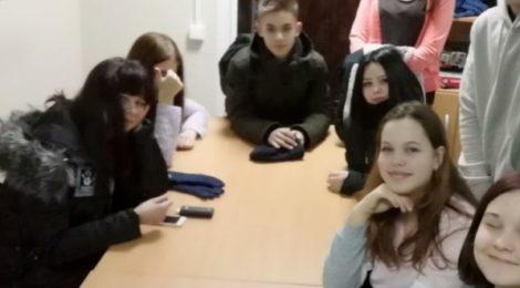 Встреча молодёжного отдела г. Рошаль