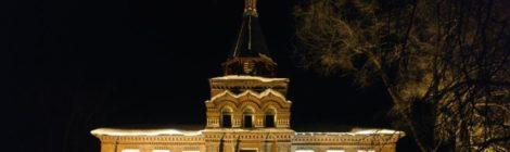 Восстановление порушенной святыни в пос. Мишеронский