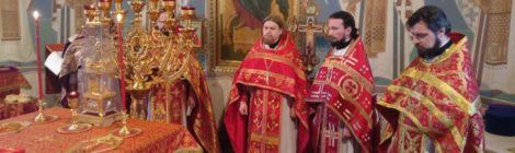 Память священомучеников Николая Голышева и Димитрия Кедроливанского