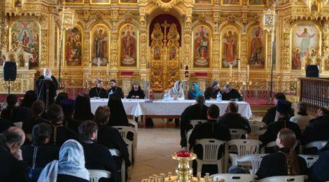 Заседание епархиального отдела по реставрации в г. Егорьевск
