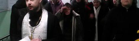 Освящение фельдшерско-акушерского пункта в с. Шарапово.