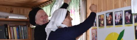 Подготовка к Пасхе в храме пос. Радовицкий
