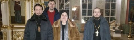 Совещание в Троицком храме с. Шарапово