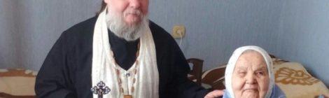 Поздравление с вековым юбилеем Евдокии Барсуковой