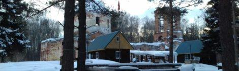 Поход воскресной школы храма пос. Мишеронский в Курилово