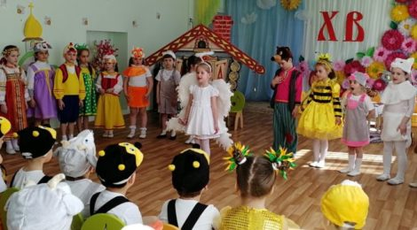 Посещение детского сада №38 пос. Мишеронский