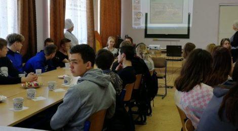 Пасхальная встреча в Шатурском энергетическом техникуме
