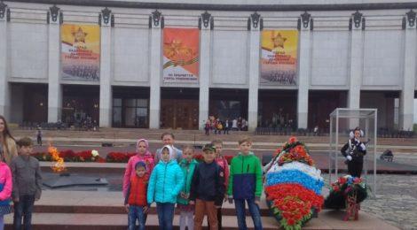Экскурсия воскресной школы храма с.Андреевские Выселки на Поклонную гору г. Москвы