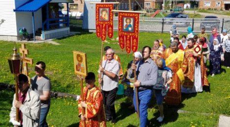 Престольный праздник в храме пос. Радовицкий