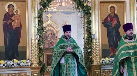 День Святого Духа в с. Шарапово