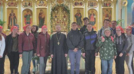 Международная делегация в Троицком храме с. Шарапово