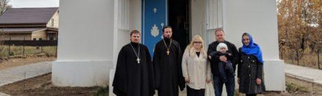 Престольный праздник и открытие воскресной школы в Покровском храме с. Кривандино