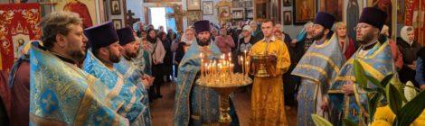 Престольный праздник в Скорбященском храме г. Рошаль