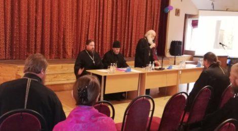 Собрание епархиального отдела по реставрации и строительству