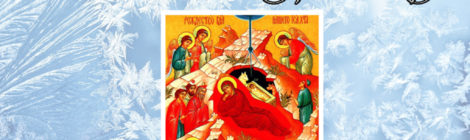 Рождественское поздравление благочинного Шатурского церковного округа священника Владислава Решетникова