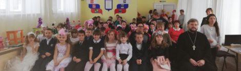 Новогодний праздник в школе-интернате г. Шатура