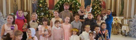 Рождественская ёлка в Спасо-Преображенском храме с. Андреевские Выселки
