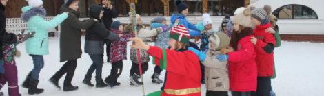 Экскурсия воскресной школы с. Андреевские Выселки в усадьбу деда Мороза с. Ромашково