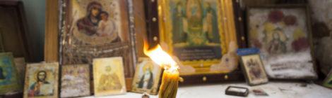 Молебен в Христорождественском храме с. Илкодино