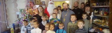Рождественский утренник в воскресной школе с. Туголес
