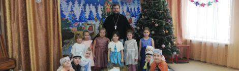 Рождественский спектакль в д/с пос. Шатурторф