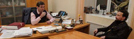 Рабочая встреча с главой г. о. Шатура