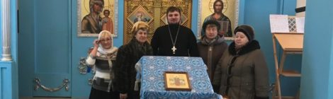 Паломники из ЦСО г. Рошаль в Покровском храме с. Кривандино