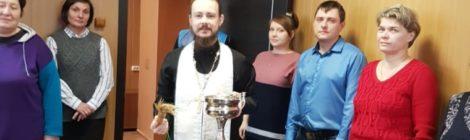 """Освящение здания в экологическом хозяйстве """"Спартак"""""""