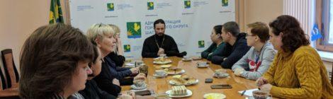 Встреча благочинного округа с представителями СМИ