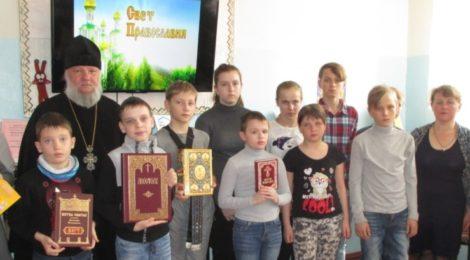 Беседа с читателями библиотеки в д. Коробовская