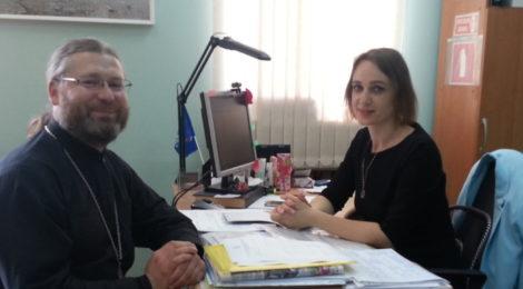 """Встреча с главным редактором газеты """"Рошальский вестник"""""""