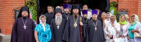 100-летие Троицкого храма дер. Низкое в Егорьевском благочинии